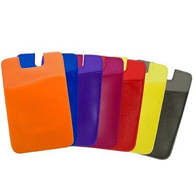 Adesivo Porta Cartão de PVC para Celular