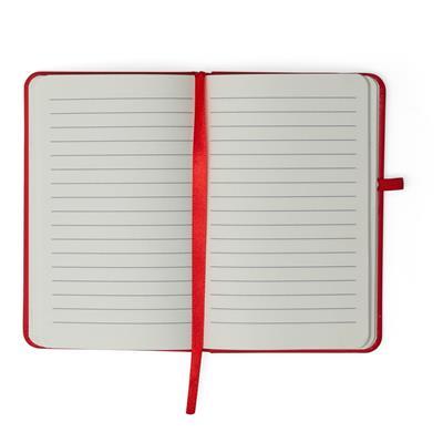 Caderneta tipo Moleskine com Porta Caneta
