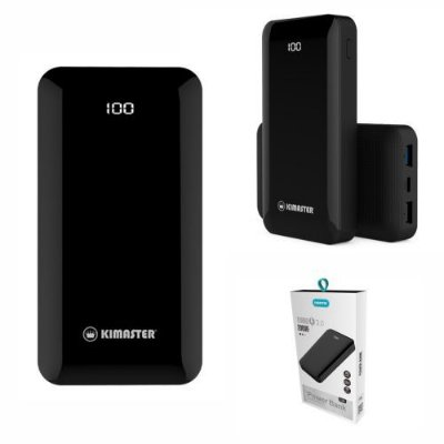 Carregador Power Bank Portátil Turbo TYPE-C 20000MAH Kimaster