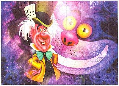 Quadro Blotter Art - Mad Hatter