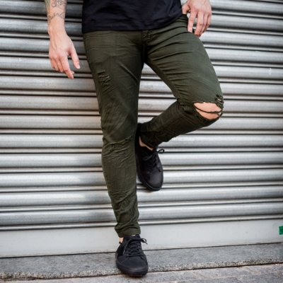 CALÇA JEANS CITY DENIM 86 MILITARY DESTROYED