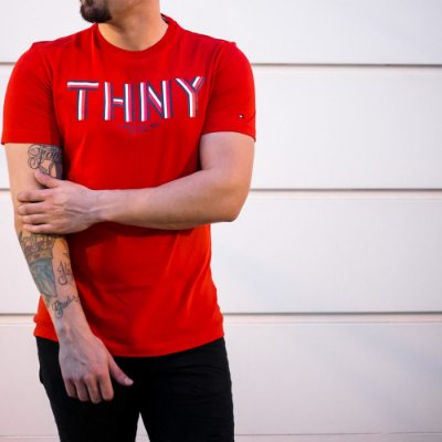 CAMISETA TOMMY HILFIGER RED THNY