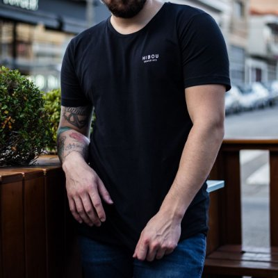 CAMISETA CAVEIRA DJ HIBOU PRETO