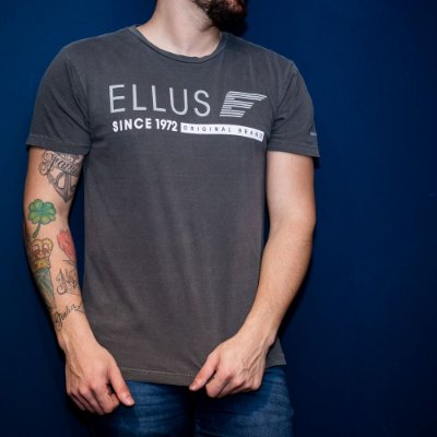CAMISETA ELLUS COTTON FINE GREY SINCE 92