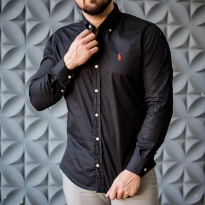 CAMISA RALPH LAUREN BASIC BLACK