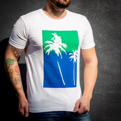 CAMISETA PALMS MONOTYPE