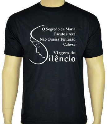 Camiseta Virgem do Silêncio