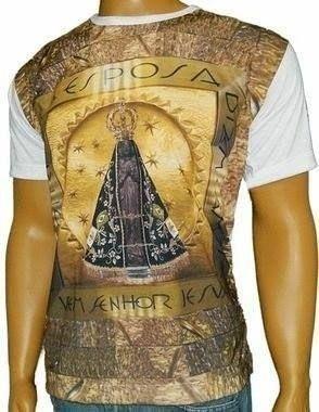 Camiseta de N. S. Aparecida Nicho