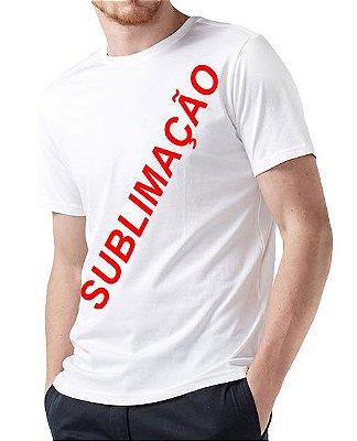 Camiseta lisa para Sublimação 06 Unidades