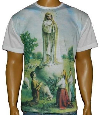 Camiseta Católica Nossa senhora de Fátima