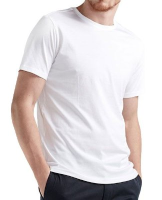 Camiseta Branca Lisa, básica