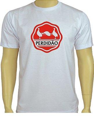 Camiseta divertida Perdidão Branca