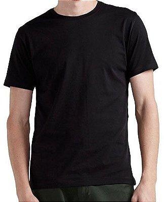 Camiseta Preta Lisa