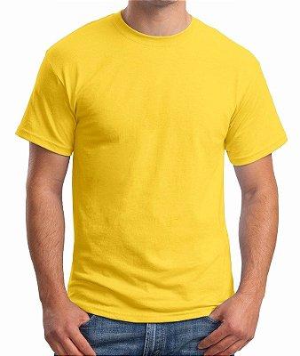 Camiseta amarela lisa