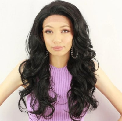 EDIÇÃO LIMITADA Peruca lace front wig cacheada Valentine