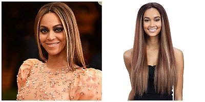 Lace front Beyoncé inspiration - Modelo 1 - Liso - 60cm - Encomenda