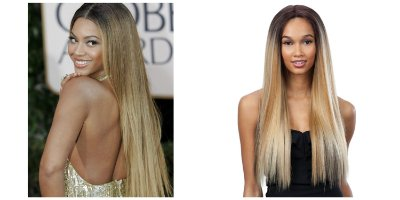 Lace front Beyoncé inspiration - Modelo 2 - Liso 60cm - Encomenda