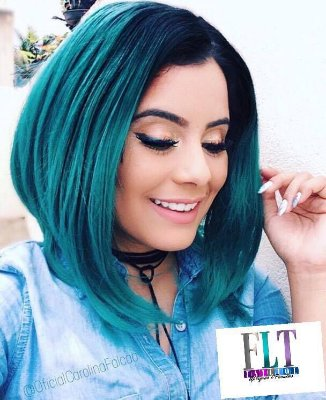 CAROLINA FALCÃO - Lace Front wig  chanel de bico  - Varias cores -  Encomenda