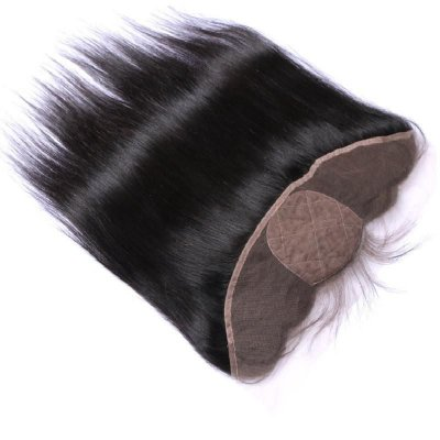 Closure lace front cabelo 100%humano com silk top - 33x10 40cm com babyhair