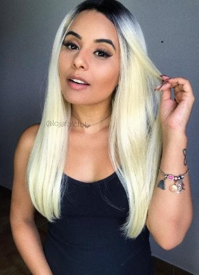 Peruca Lace front wig  TALIAH - Varias cores