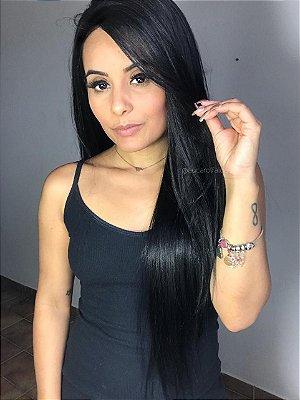 Peruca lace front wig lisa - Talita - 70cm - Repartição livre - PRONTA ENTREGA