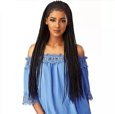 SENSATIONNEL CLOUD9 HAND BRAIDED 13X5 PART SWISS LACE WIG - SIDE PART CORNROW