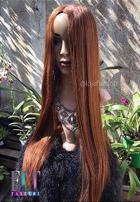 Peruca wig Lisa 75cm Ruiva - Marina - PRONTA ENTREGA