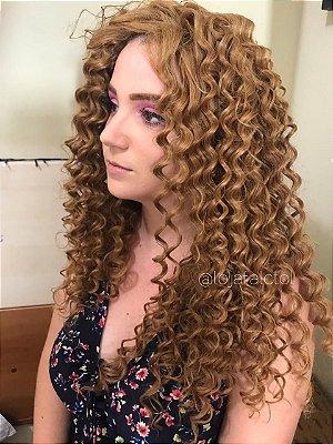 EDIÇÃO LIMITADA - Peruca lace front wig cacheada Ruiva - VERÔNICA - PRONTA ENTREGA
