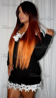 DEEP INVISIBLE L-PART LACE WIG LIGHT - Omsunflower - ENCOMENDA