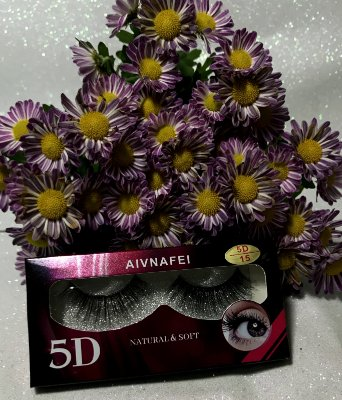 Cilios Postiço 5D Natural e Soft A
