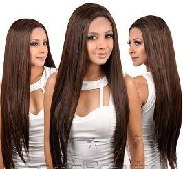 Full Lace Wig lisa  - 65cm - Show Girls -   Castanho Escuro - ENCOMENDA
