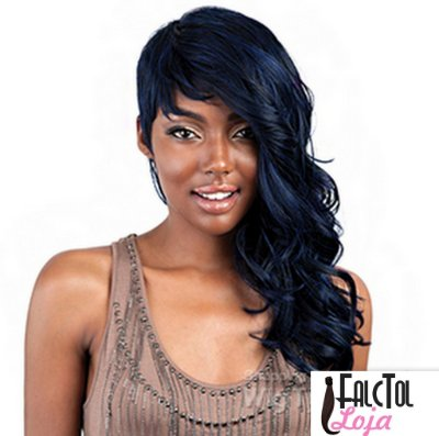 Isis Red Carpet Synthetic Hair Wig - RCP145 RIHANNA ROCK - Preta - Encomenda