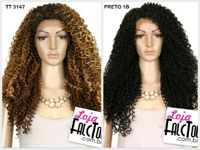 Synthetic Iron Friendly Lace Front Wig - SWISS LACE BADEN (futura) - ENCOMENDA