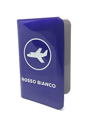 MINI CARTEIRA ROSSO BIANCO AZUL