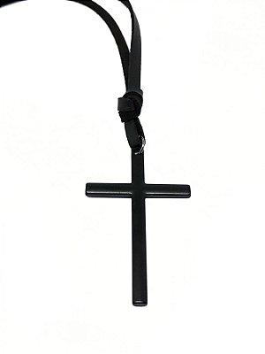 Cordão Cruz Preta