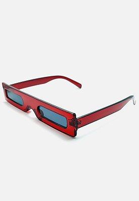 Óculos de Sol Vintage Vermelho