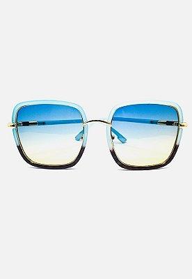 Óculos Kodo Acessórios Quadrado Azul