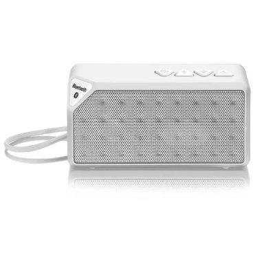 Caixa de Som Bluetooth Multilaser 8W RMS Hands Free Micro SD Aux Branco - SP176