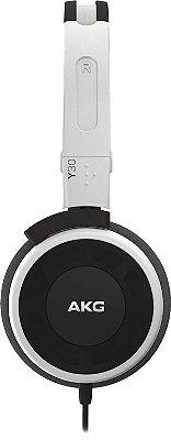 Fone de Ouvido AKG Y30 com Microfone Branco