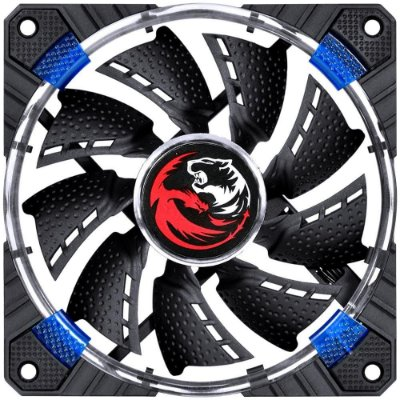 Cooler FAN PCYes 120MM Calafrio FCAL120LDAZ Led Azul