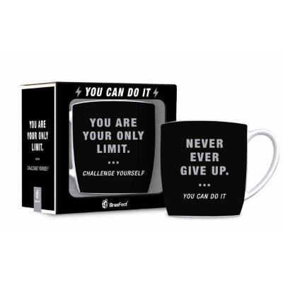 Caneca Porcelana Urban 360ml Brasfoot - You are Your Limit