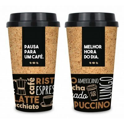 Copo Bucks 550ml Brasfoot - Pausa para uma Café