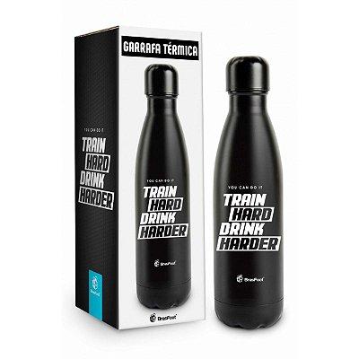 Garrafa Térmica Metal Neo 500 Ml Brasfoot - Train Hard Drink