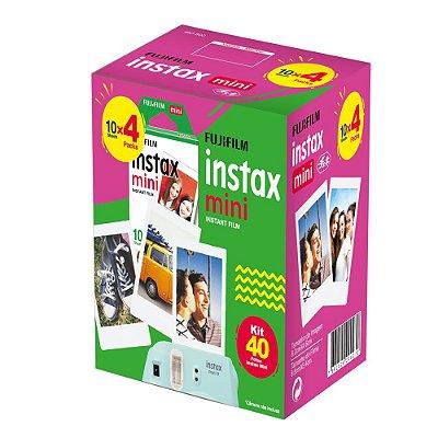 Filme Fujifilm Instax Mini - 40 fotos