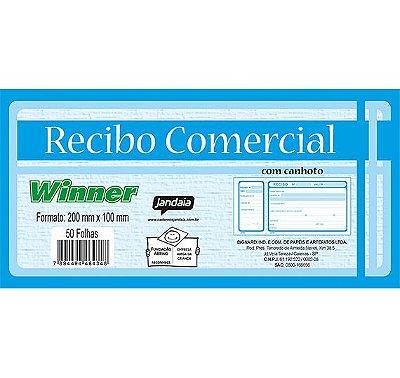 Talão de Recibo Comercial Jandaia Winner 50 Folhas