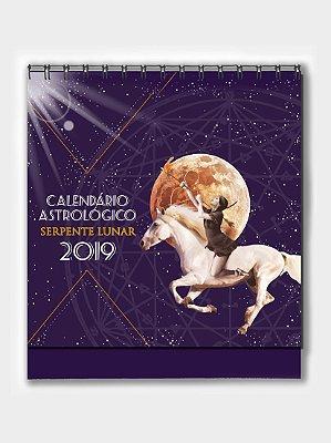 Calendário Astrológico Serpente Lunar   2019