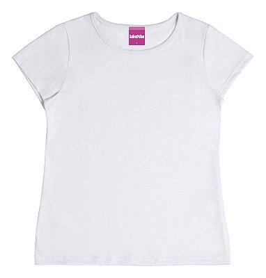 Blusa Básica em Meia Malha Branco