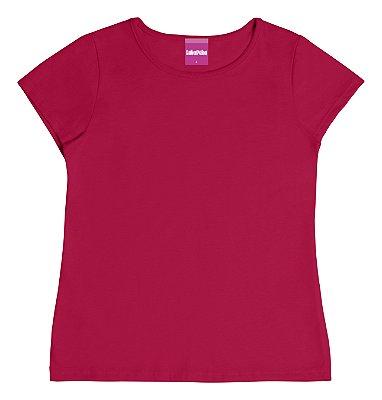 Blusa Básica em Meia Malha Vermelha