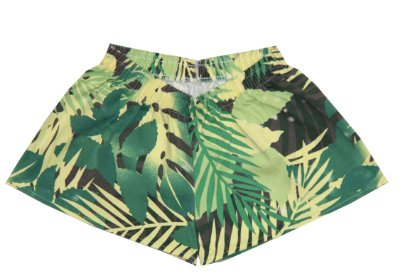 Shorts Estampado Folhas