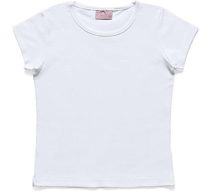 Blusa Básica em Cotton Branco